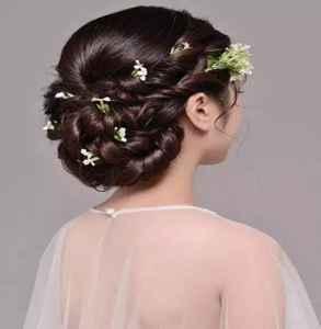 新娘发型图片2019款 绝对让你艳压全场