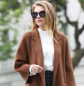 双面绒大衣怎么搭配 复古优雅贵气十足