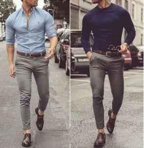灰色西褲配什么上衣 這四件單品少不了