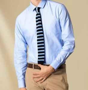 蓝色衬衫配什么领带 这三个搭配技巧请记住