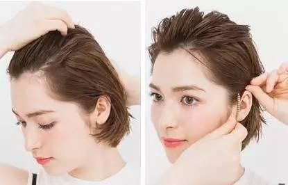 短发怎么扎简单好看 短发姑娘来学学扎头发吧图片