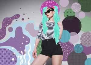 韩版牛仔风衣里面怎么搭配  潮女教穿出时代潮流范儿