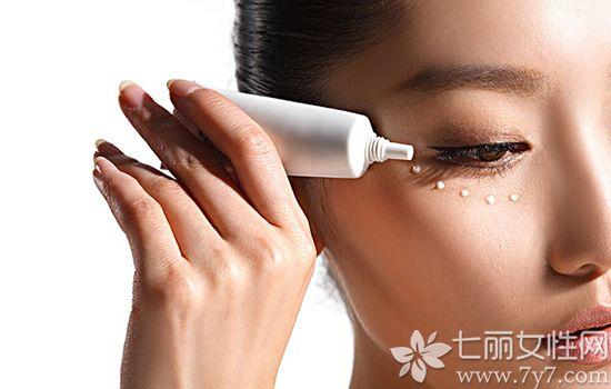 完美芦荟胶可以当眼霜用吗
