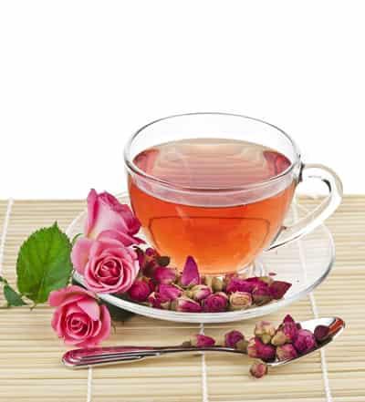 <最美>自制美容养颜玫瑰茶 喝出如花容颜