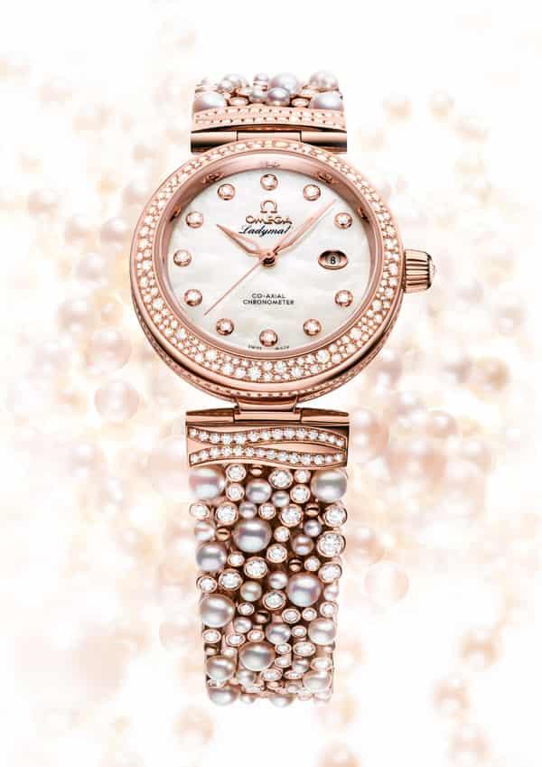 歐米茄2013新款Ladymatic系列女士手錶 極盡優雅奢華