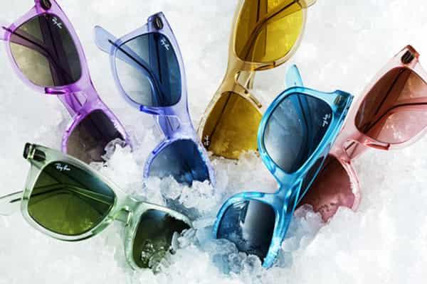 [夏日骄阳红似火]应对夏日骄阳装备 雷朋Ice-Pop Wayfarer系列时尚太阳眼镜