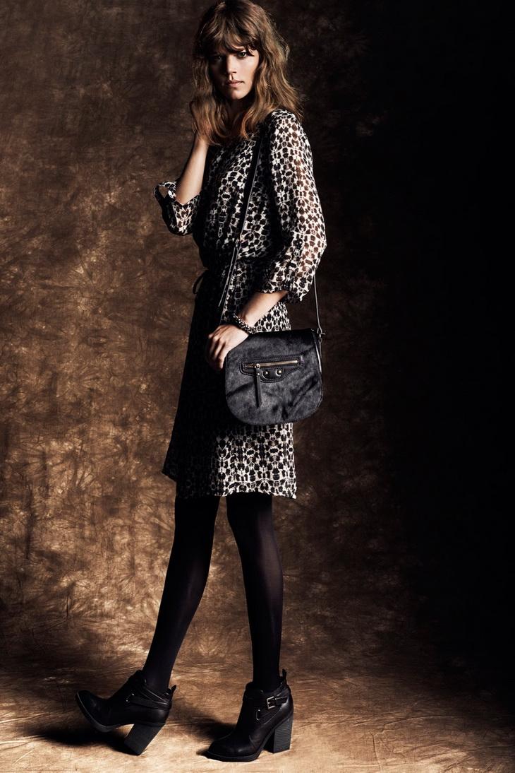 Reserved 芮瑟芙2013秋冬新款时尚女装系列LOOKBOOK