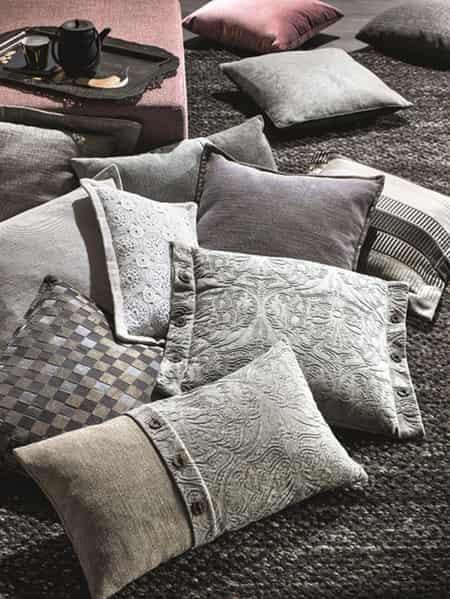 natuzzi editions_Natuzzi2013春夏格纹系列沙发靠枕 打造专属创意格调居家