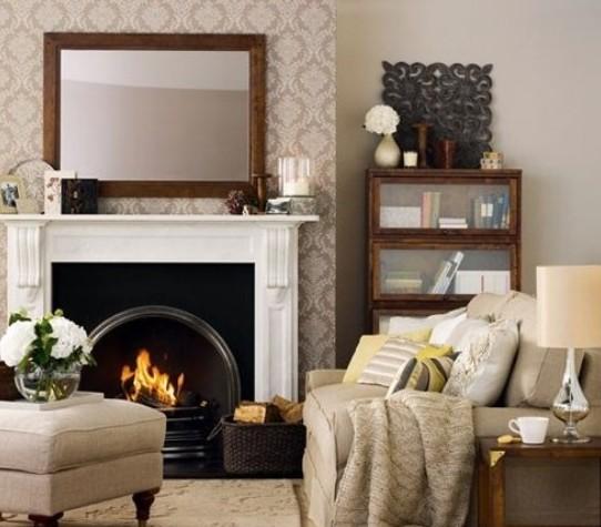 欧式风格装修效果图|家居欧式风格 温暖客厅装修参考案例