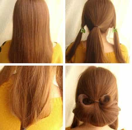 [淑女发型图片编发]韩式淑女编发发型 锁住清纯的1分钟教程