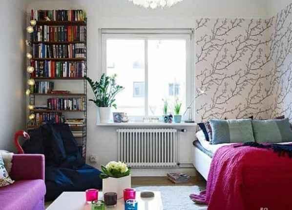 [北欧风格装修]37平北欧风格单身公寓 独特设计打造花丛中的美家