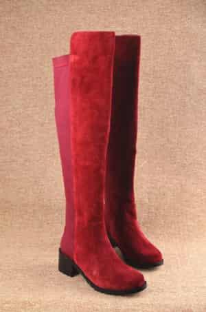 """【时尚集团】时尚过膝女靴 让你""""足""""够迷人的搭配"""