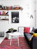 舒适客厅装修效果图 简约北欧风格中的自由气息
