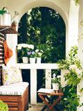 生活阳台装修设计效果图 打造夏季避暑圣地