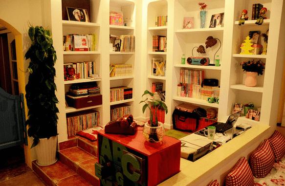 欧式书房设计效果图大全|欧式书房设计效果图 打造地中海风情