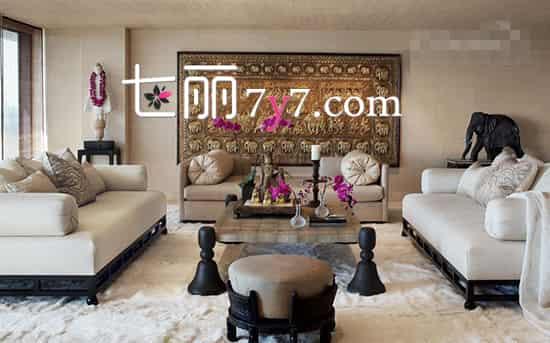 客厅装修效果图简约_白色为主的简约客厅装修 增加空间透亮感