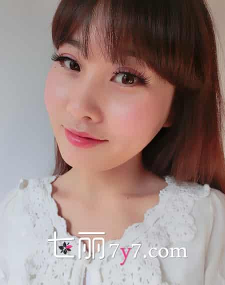 韩国美女|韩国女生的超美桃花妆画法 心机美妆衬托少女风