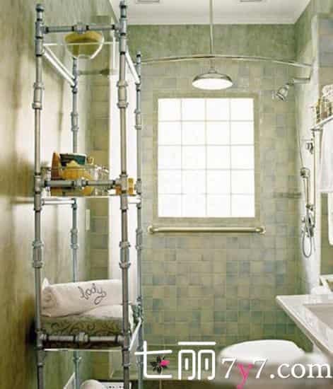 日式卫浴间装修效果图|小户型卫浴间装修设计 小空间精致布局
