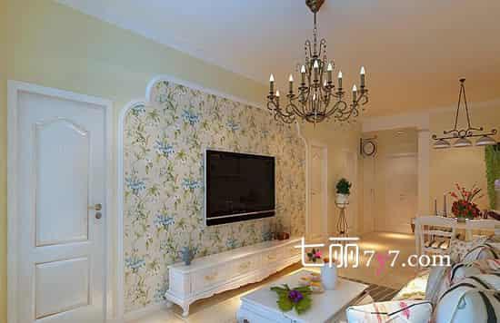 90平米装修|90平米小居室田园生活 拥有温馨浪漫
