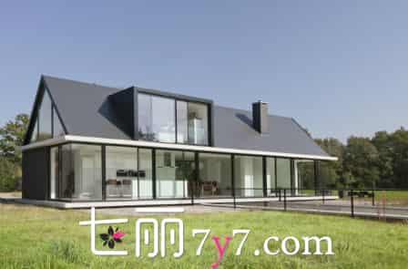 【现代玻璃独栋别墅设计效果图】现代玻璃独栋别墅设计 让你见识什么叫公主的城堡
