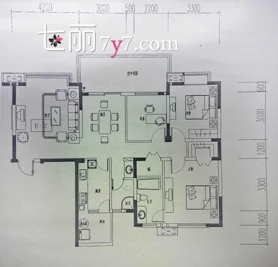 120多平米户型美式风格装修效果图|120多平米户型美式风格装修效果图 温馨家居