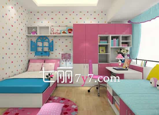 【卧室装修效果图简约】儿童房装修效果图 为孩子打造一个温馨小天地