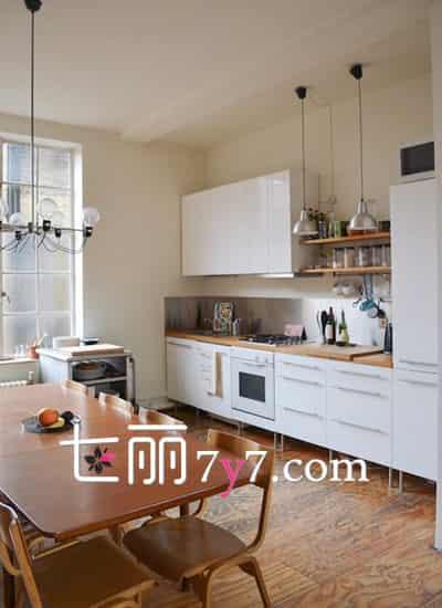 小户型厨房装修设计效果图大全|开放式厨房装修设计效果图 跟时代脚步进步