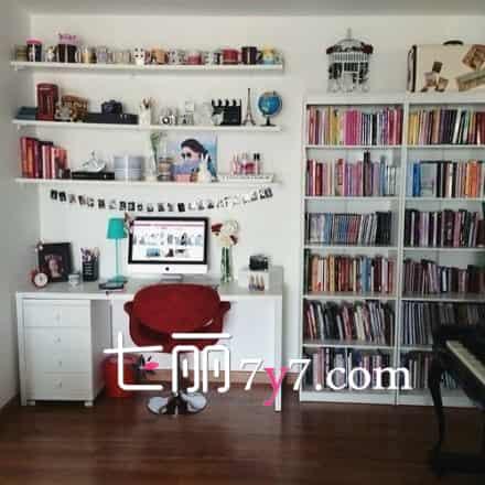 书房电脑桌书柜效果图_书房必备书柜电脑桌 多种样式效果图一览