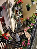 家庭开放式阳台装修效果图 打造私人专属小花园