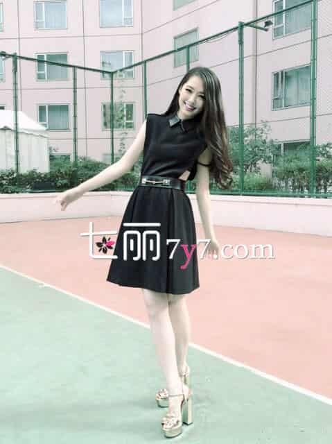 郭碧婷同款夏季连衣裙 时尚俏丽美裙热售
