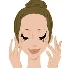 黑眼圈怎么按摩可以缓解,按摩去除黑眼圈,眼部按摩去黑眼圈