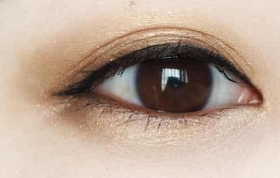 自然眼妆的画法步骤图图片