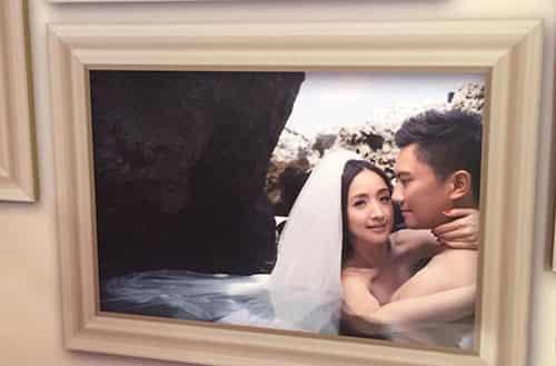 明星婚纱照图片大全2018款图片