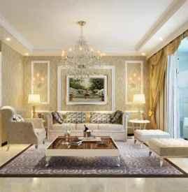 沙发背景墙效果图欧式 不一样的欧式风情