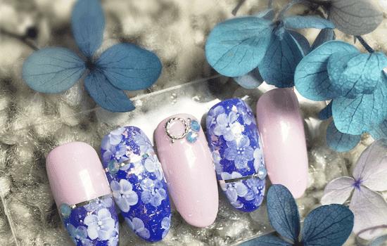 五瓣花变色美甲教程 精致温变胶打造变色美甲