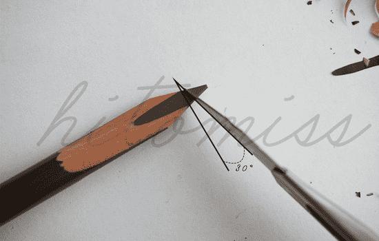 手工艺技术打造的人性化特色眉笔,独特日式砍刀造型,可将眉毛画出一根根的自然立体眉型