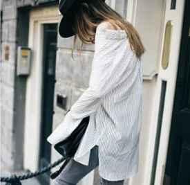 黑色牛仔裤配什么颜色上衣好看   教你早秋穿出高级感