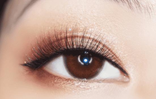 金棕色眼影的画法步骤图图片