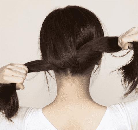 扎头发,教你扎100种头发,扎头发的方法视频