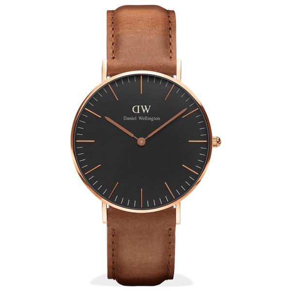 Daniel Wellington 最新黑色錶款盡顯優雅品味
