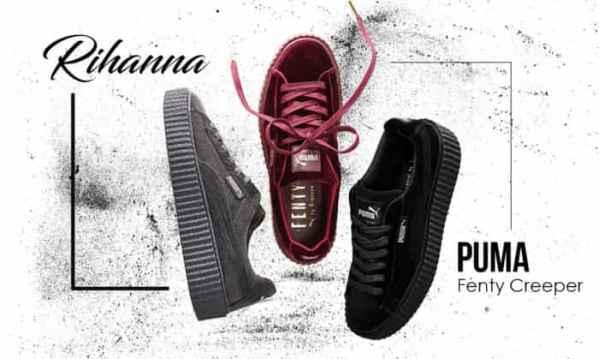 Rihanna X PUMA Fenty Creeper 全新配色系列