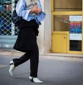 踩脚裤怎么穿 小设计大时髦