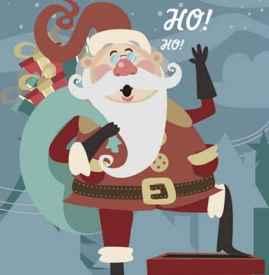 圣诞老人的由来  据说圣诞老人是奥丁神的后裔