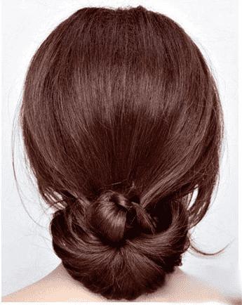 发型扎法简单又好看 公主头&盘发图解