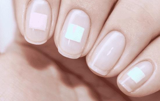 小清新美甲图片短指甲图片