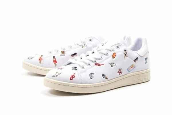 adidas推出Stan Smith 夏日刺绣运动鞋
