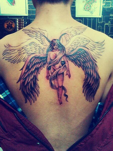 六翼天使死神纹身 第5页图片