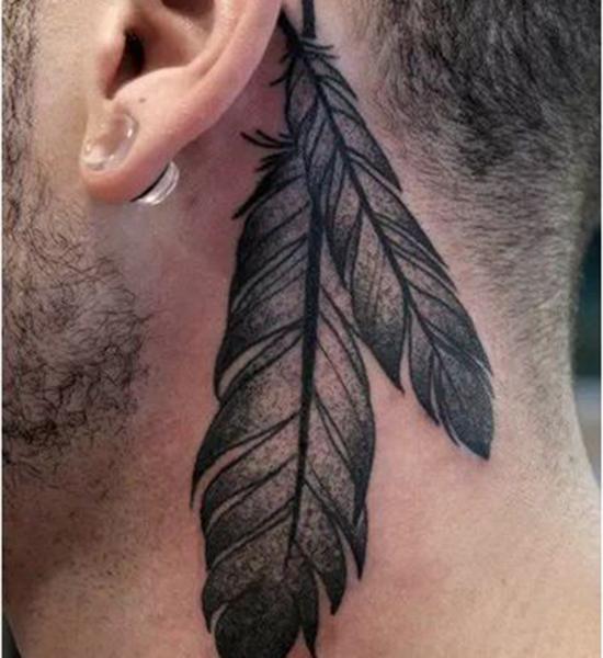 耳后纹身小图案女 不可错过的小清新纹身