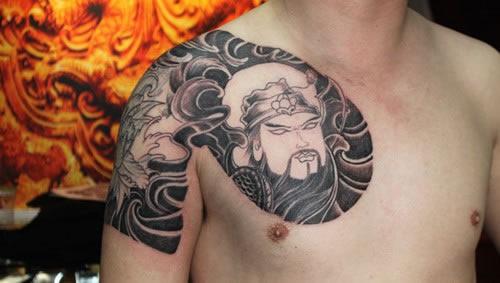 半甲纹身图案大全,半甲纹身手稿,半甲纹身图片 第1页图片