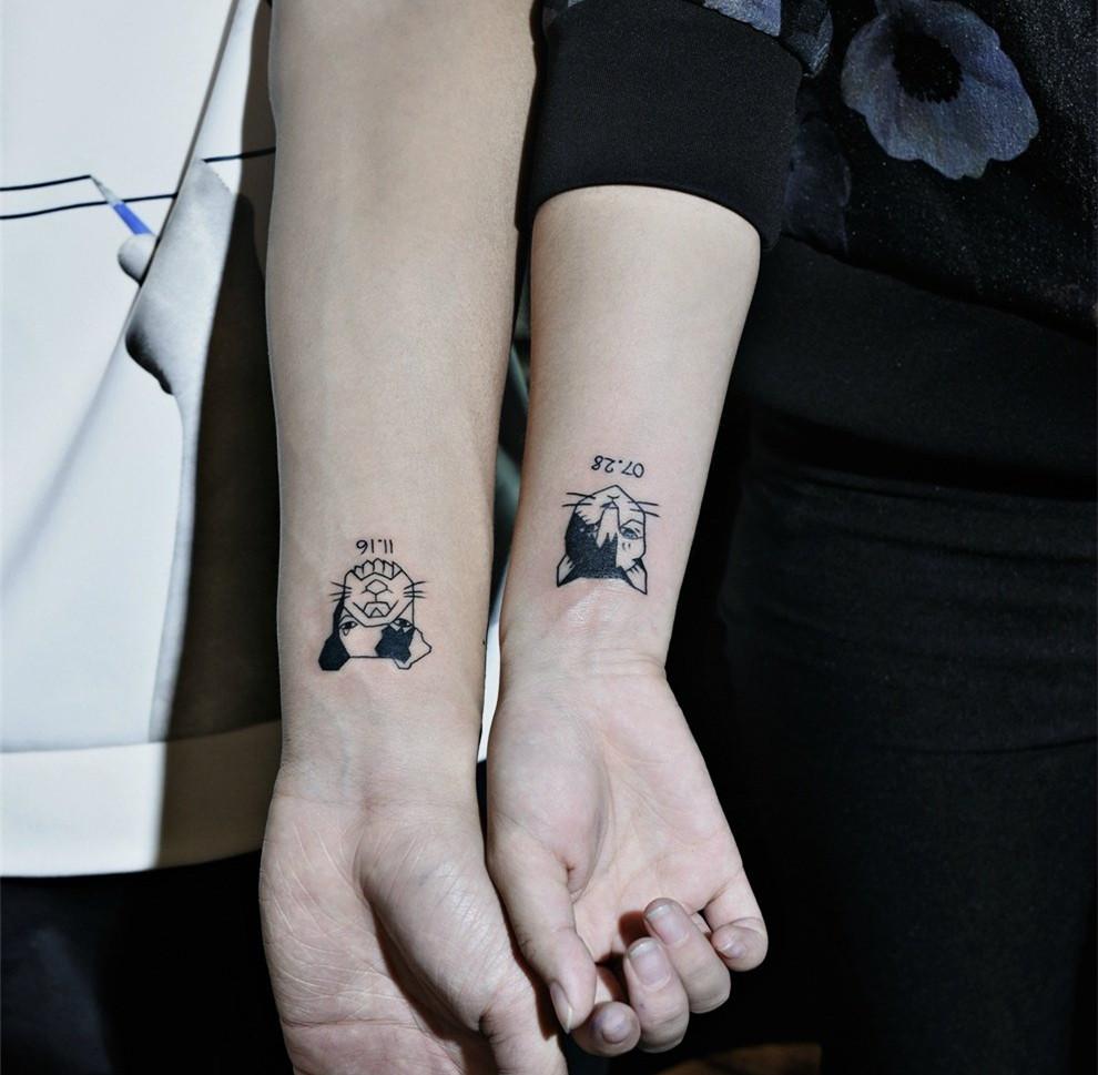 手腕纹身图案 小清新治愈系纹身 -手腕纹身图案,手腕纹身图片,手腕图片